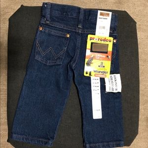 Wranglers for baby 1T/12mo NWT